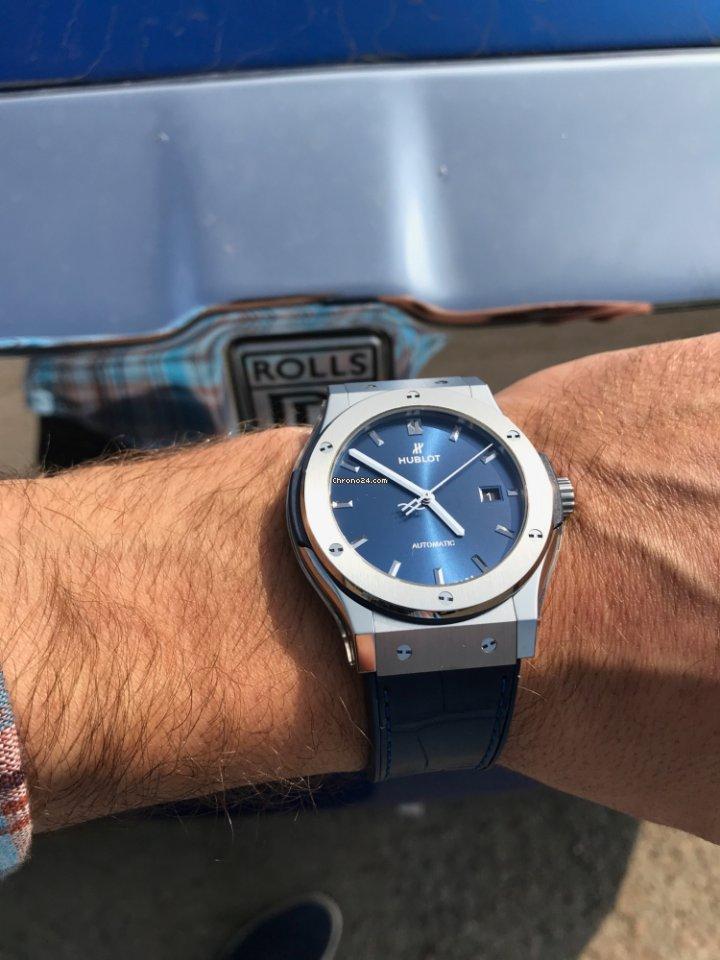 b6f65667e0e7 Hublot Classic Fusion Blue