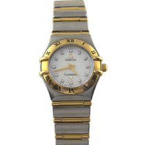 Omega Constellation Ladies Gold/Steel 22.5mm Mother of pearl United Kingdom, Birmingham