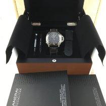 Panerai Luminor 1950 8 Days Chrono Monopulsante GMT Титан 44mm Чёрный Aрабские Россия, Moscow