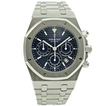 Audemars Piguet 25860ST Aço 2007 Royal Oak Chronograph 39mm novo
