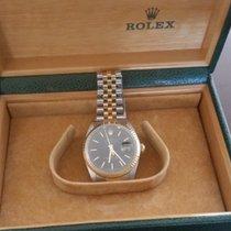 Rolex Datejust Χρυσός / Ατσάλι 36mm Μαύρο Ελλάδα, Μαρούσι