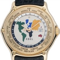 Ebel Voyager Yellow gold 38mm Silver