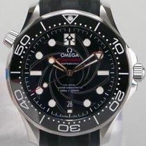 Omega Seamaster Diver 300 M Steel 42mm Black