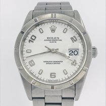 Rolex Oyster Perpetual Date Acero 34mm Blanco España, Barcelona