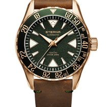 Eterna Kontiki Bronze 44mm Black