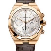 Vacheron Constantin Overseas Chronograph Rose gold Silver No numerals United States of America, Iowa, Des Moines