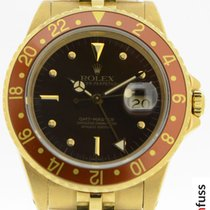Rolex GMT-Master 16758 Very good Yellow gold 40mm Automatic