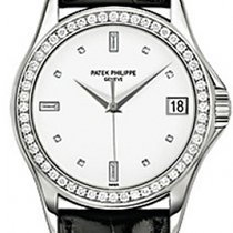 Patek Philippe White gold 37mm Automatic 5108G-012 pre-owned