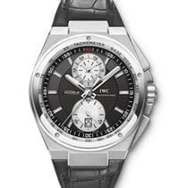 IWC Big Ingenieur Chronograph Сталь 45mm Чёрный
