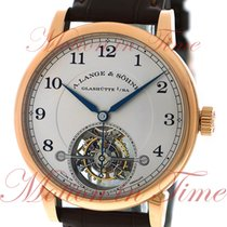 A. Lange & Söhne 1815 Tourbillon, Silver Dial - Rose Gold on...
