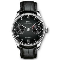IWC Portuguese Automatic Steel 42.3mm Black Arabic numerals United States of America, Pennsylvania, Holland
