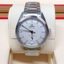 Omega Globemaster Steel White No numerals United Kingdom, Wilmslow