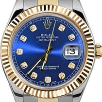 Rolex Datejust II Ocel 41mm Modrá