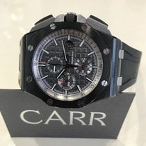 Audemars Piguet Black Ceramic Royal Oak Offshore Grey Dial