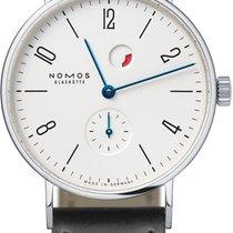 NOMOS Steel Manual winding White 35mm new Tangente Gangreserve