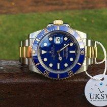 Rolex Submariner - Steel & Gold - Blue Smurf Dial - 116613LB