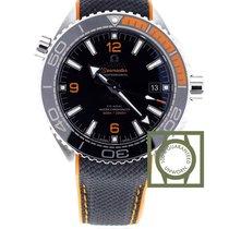 Omega Seamaster Planet Ocean co-axial black orange
