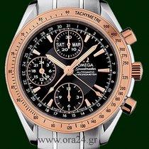 Omega Speedmaster Day Date 40mm Chronometer 18k Red Gold Steel