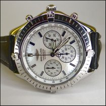 Breitling Shadow Flyback Stahl Automatic Perlmutt Dial