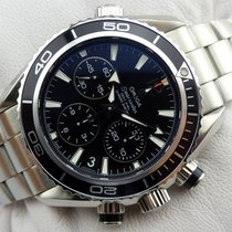 Omega Seamaster Planet Ocean Chronograph - Midsize - Papers