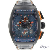 Cvstos Challenge Grand Prix Black Steel Chrono Limited Edition
