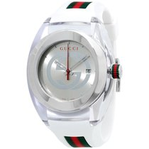 7b4772b6cc5 Gucci I-gucci Grey Dial Silicone Strap Men s Watch Ya114105 for C ...