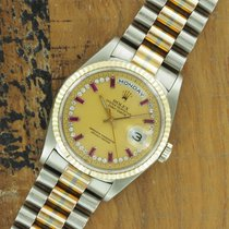 Rolex White gold 36mm Automatic 18239B pre-owned