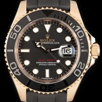 Rolex Yacht-Master pre-owned 40mm Rose gold