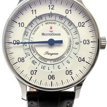 Meistersinger 40mm Automatic pre-owned Pangaea Day Date Champagne