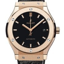 Hublot Rose gold Automatic Black 38mm new Classic Fusion 45, 42, 38, 33 mm