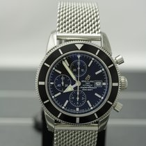 Breitling Superocean Héritage Chronograph Steel 46mm Black No numerals United States of America, New York, Buffalo