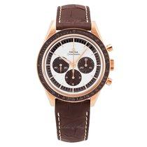 欧米茄 Speedmaster Professional Moonwatch 玫瑰金 39.7mm 银色
