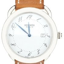 Hermès Arceau Steel 40mm White United States of America, Illinois, BUFFALO GROVE