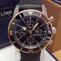 Breitling Superocean Héritage II Chronographe neu 2019 Automatik Chronograph Uhr mit Original-Box und Original-Papieren U13313121B1S1
