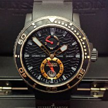 Ulysse Nardin Maxi Marine Diver Steel 42.7mm Black United Kingdom, Wilmslow