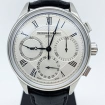 Frederique Constant pre-owned Automatic 42mm Silver Sapphire Glass