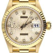 Rolex Lady-Datejust 69178 Желтое золото 26mm Автоподзавод