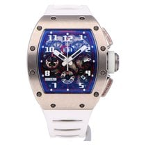 Richard Mille RM011 White gold 2017 RM 011 50mm pre-owned
