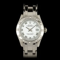 Rolex Lady-Datejust Pearlmaster pre-owned 29mm White