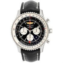 Breitling Navitimer GMT Steel 48mm Black