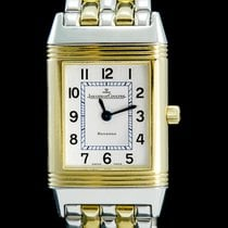 Jaeger-LeCoultre Reverso Lady Gold/Steel 20mm Grey Arabic numerals