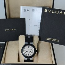 Bulgari pre-owned Automatic 38mm White Sapphire crystal
