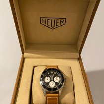 TAG Heuer Autavia Steel 42mm Black No numerals United States of America, New Jersey, Long Branch