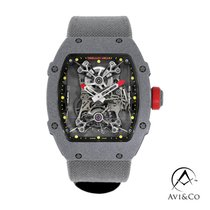 Richard Mille Plastic Manual winding Transparent No numerals 38mm pre-owned RM 027