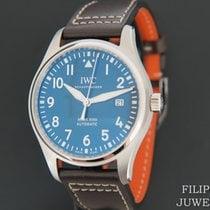 IWC Pilot Mark Acier 40mm Bleu
