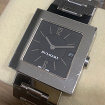 Bulgari Quadrato Steel 27mm Black