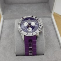 Dior pre-owned Automatic 38mm Purple Sapphire crystal 5 ATM