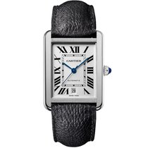 Cartier new Automatic 31mm Steel Sapphire crystal