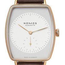 NOMOS Lux Or rose 39mm Gris