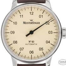 Meistersinger Steel 43mm Automatic AM903 pre-owned